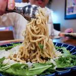 84329887 - 篠島産シラスのサッパリ塩レモン焼き麺