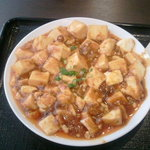 Chuukabishokuasahitei - 麻婆豆腐アップ!ご飯おかわりOK!