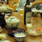湯屋 飛龍の宿 - 料理写真:夕食①
