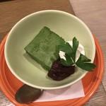 チャワン - 抹茶ババロア