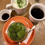 チャワン - 抹茶わらびもちラテ&ブレンドコーヒー&抹茶黒蜜ラテ