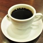 84332645 - コーヒー(ホット)400円(税込)、2杯目から 200円。      2018.04.17