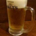 居酒屋 ニパチ - ビール