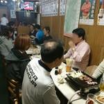 やきにく徳山 - 内観写真:店内