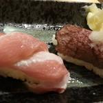 大衆海鮮居酒屋 おっ魚 - 寿司から大トロ、和牛あぶり通常各390円が半額♪