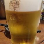 けむり - ハッピーアワーで生ビールはヱビス通常530円が半額