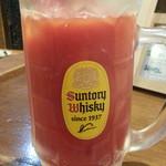 けむり - トマトハイ通常450円がハッピーアワーで半額