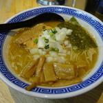 84338027 - らあ麺(中盛サービス)