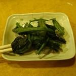 べ亭 - 高菜の塩漬け