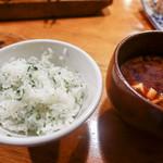 菩提樹 - 紫蘇ご飯