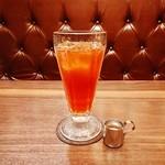 星乃珈琲店 - アイスティー。冷たい飲み物もご用意しております。