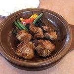 サイゼリヤ - 鶏肉のオーブン焼き(バルサミコ甘酢ソース)ランチ       ¥500