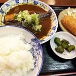 84355843 - サバ味噌定食