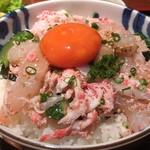 めしの助 - 甲殻丼(大)