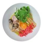 麺や ハレル家 - 海老味噌クリームまぜ麺
