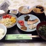 五十沢温泉ゆもとかん - 料理写真:朝食バイキング