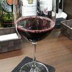 ちょい飲み バー ドン キホーテ - 珍しいブルガリアワインからおすすめのついたメルニク55は350円