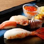 おたる政寿司 - ランチ:極2,980円(税抜)