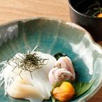 おたる政寿司 - いかそうめん1580円(税抜)