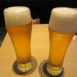 五代目 花山うどん - 生ビール 680円+Tax