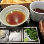 五代目 花山うどん - 天つゆ・めんつゆ・薬味