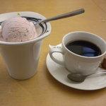 魚寅 - デザートとコーヒー