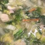 前島食堂 - 鳥野菜