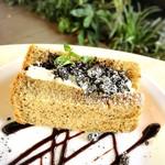 ウメカフェ - チョコクッキーシフォン