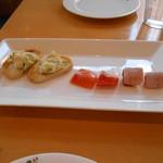 小倉 匠のパスタ ラ・パペリーナ - 前菜╰(*´︶`*)╯♡