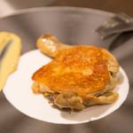 CarneTribe second クラフトビアバー - 鶏もも肉のコンフィ