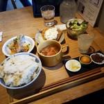 TSUKUMO食堂 - 「選べる定食 (1400円)」