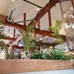 TSUKUMO食堂 - 緑いっぱいの店内です