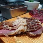 竹末東京Premium - 旨いチャーシュー。食べ尽くしてしまいたい!