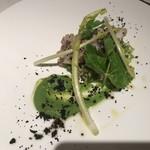 カンブーザ - イイダコと春野菜スペルト小麦