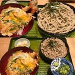 そば吉 - 料理写真:天とじ丼セット(1,250円)