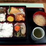 旭川市役所 地下食堂 - 弁当 500円