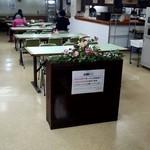 旭川市役所 地下食堂 - 12時前は、店内も空いてますね!