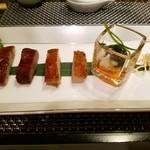 GINZA沁馥園 - 広東式焼き物前菜盛り合わせ6種