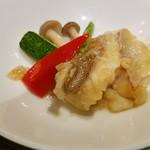 GINZA沁馥園 - キハタと旬野菜のあっさり炒め