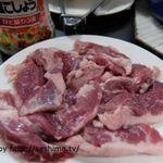 焼肉道食 - 豚サガリ