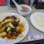 中華料理 龍上