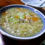 民宿ふじや - 蕎麦の実雑炊