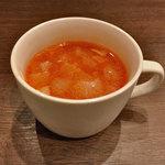 ボーノロッソ - ランチのスープ