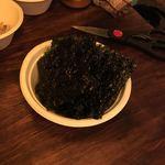 セルフ焼肉専門 焼肉じょんじょん - 韓国海苔
