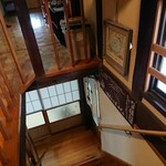 民宿ふじや - 急な階段は、伝統家屋の弱点。