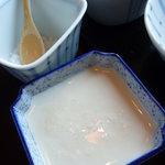日本料理 嘉助 - お豆腐はお塩で。