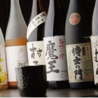日・韓の多種に渡るお酒の数々