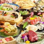 お肉と魚と貝のどれもこれも -