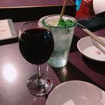 ゴチ - グラスワインとモヒート