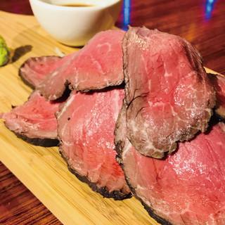 【肉祭り】自家製ローストビーフが超お得♪肉好きよ集まれ~